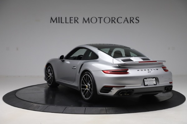 Used 2017 Porsche 911 Turbo S for sale Sold at Aston Martin of Greenwich in Greenwich CT 06830 5