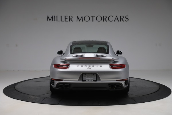 Used 2017 Porsche 911 Turbo S for sale Sold at Aston Martin of Greenwich in Greenwich CT 06830 6
