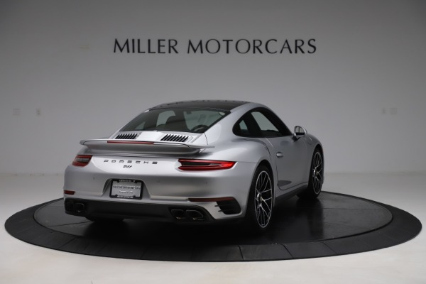 Used 2017 Porsche 911 Turbo S for sale Sold at Aston Martin of Greenwich in Greenwich CT 06830 7
