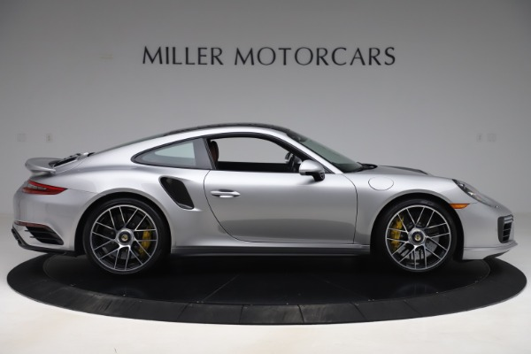 Used 2017 Porsche 911 Turbo S for sale Sold at Aston Martin of Greenwich in Greenwich CT 06830 9