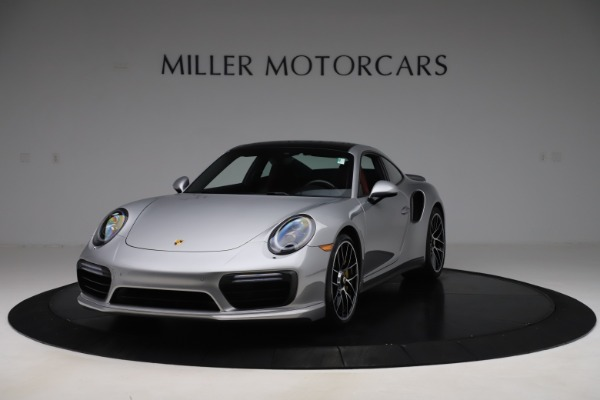 Used 2017 Porsche 911 Turbo S for sale Sold at Aston Martin of Greenwich in Greenwich CT 06830 1