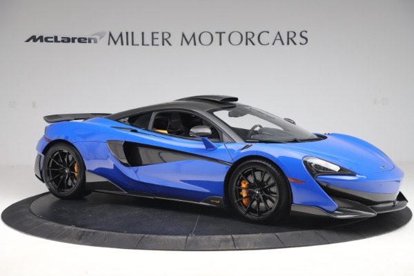 Used 2019 McLaren 600LT for sale $255,900 at Aston Martin of Greenwich in Greenwich CT 06830 10