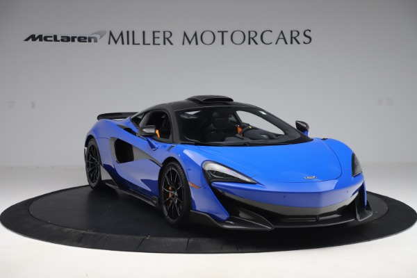 Used 2019 McLaren 600LT for sale $255,900 at Aston Martin of Greenwich in Greenwich CT 06830 11