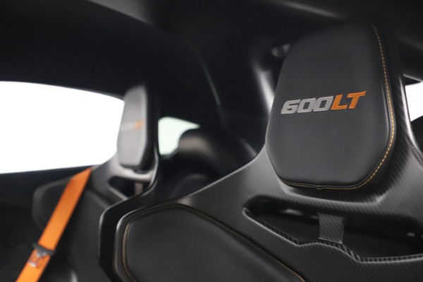 Used 2019 McLaren 600LT for sale $255,900 at Aston Martin of Greenwich in Greenwich CT 06830 17