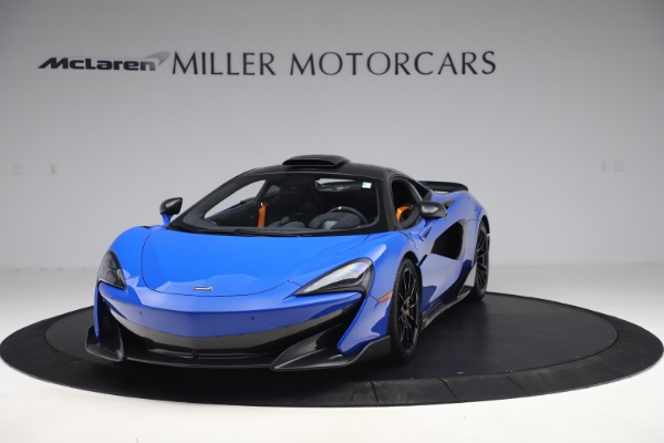 Used 2019 McLaren 600LT for sale $255,900 at Aston Martin of Greenwich in Greenwich CT 06830 2