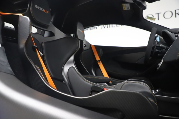 Used 2019 McLaren 600LT for sale $255,900 at Aston Martin of Greenwich in Greenwich CT 06830 21