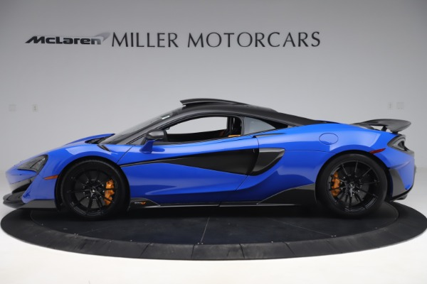 Used 2019 McLaren 600LT for sale $255,900 at Aston Martin of Greenwich in Greenwich CT 06830 3