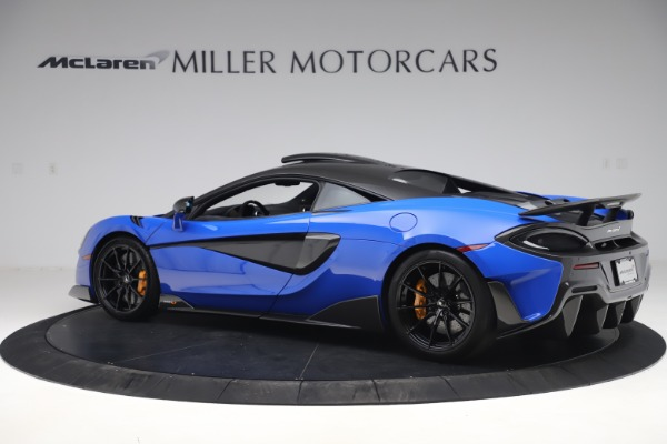 Used 2019 McLaren 600LT for sale $255,900 at Aston Martin of Greenwich in Greenwich CT 06830 4