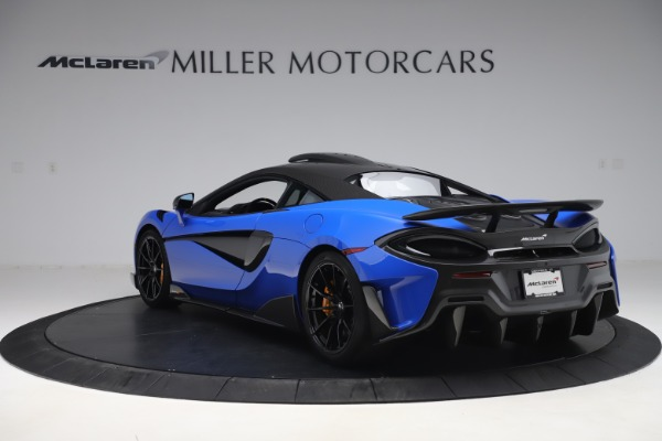 Used 2019 McLaren 600LT for sale $255,900 at Aston Martin of Greenwich in Greenwich CT 06830 5