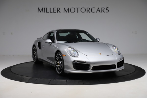 Used 2015 Porsche 911 Turbo S for sale $121,900 at Aston Martin of Greenwich in Greenwich CT 06830 11