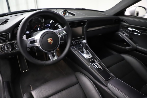 Used 2015 Porsche 911 Turbo S for sale $121,900 at Aston Martin of Greenwich in Greenwich CT 06830 13