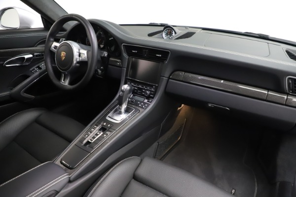 Used 2015 Porsche 911 Turbo S for sale $121,900 at Aston Martin of Greenwich in Greenwich CT 06830 16