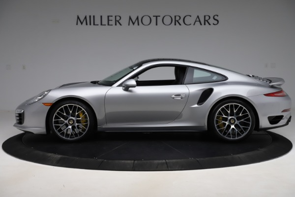 Used 2015 Porsche 911 Turbo S for sale $121,900 at Aston Martin of Greenwich in Greenwich CT 06830 3