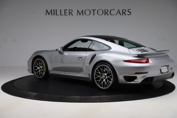 Used 2015 Porsche 911 Turbo S for sale $121,900 at Aston Martin of Greenwich in Greenwich CT 06830 4