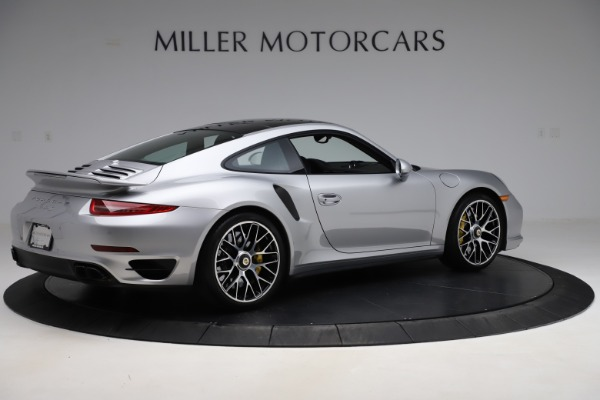 Used 2015 Porsche 911 Turbo S for sale $121,900 at Aston Martin of Greenwich in Greenwich CT 06830 8