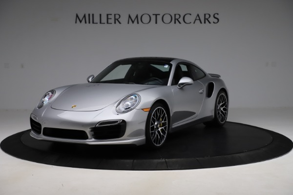 Used 2015 Porsche 911 Turbo S for sale $121,900 at Aston Martin of Greenwich in Greenwich CT 06830 1