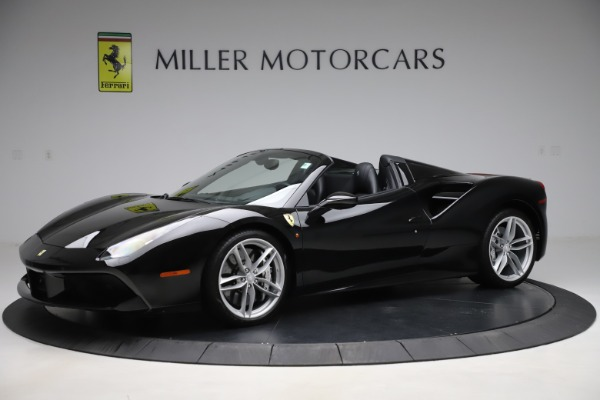 Used 2016 Ferrari 488 Spider for sale $242,900 at Aston Martin of Greenwich in Greenwich CT 06830 2