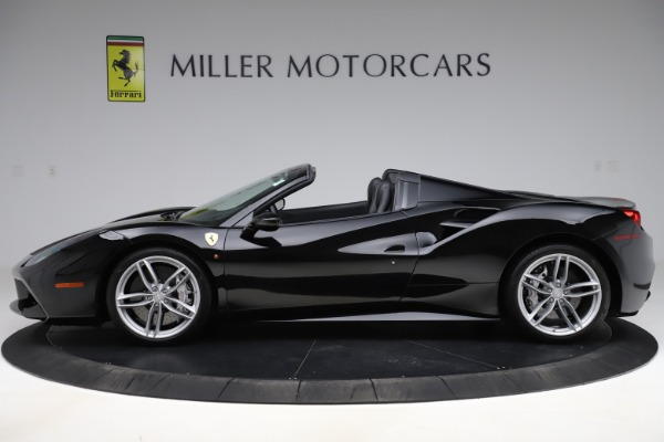 Used 2016 Ferrari 488 Spider for sale $242,900 at Aston Martin of Greenwich in Greenwich CT 06830 3