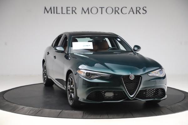 New 2020 Alfa Romeo Giulia Ti Sport Q4 for sale $54,995 at Aston Martin of Greenwich in Greenwich CT 06830 11