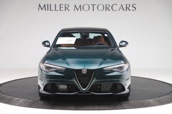 New 2020 Alfa Romeo Giulia Ti Sport Q4 for sale $54,995 at Aston Martin of Greenwich in Greenwich CT 06830 12