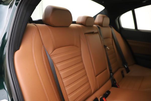 New 2020 Alfa Romeo Giulia Ti Sport Q4 for sale $54,995 at Aston Martin of Greenwich in Greenwich CT 06830 26