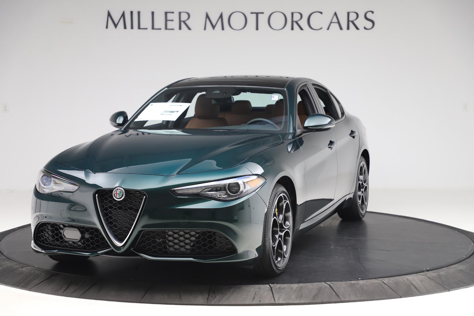 New 2020 Alfa Romeo Giulia Ti Sport Q4 for sale $54,995 at Aston Martin of Greenwich in Greenwich CT 06830 1
