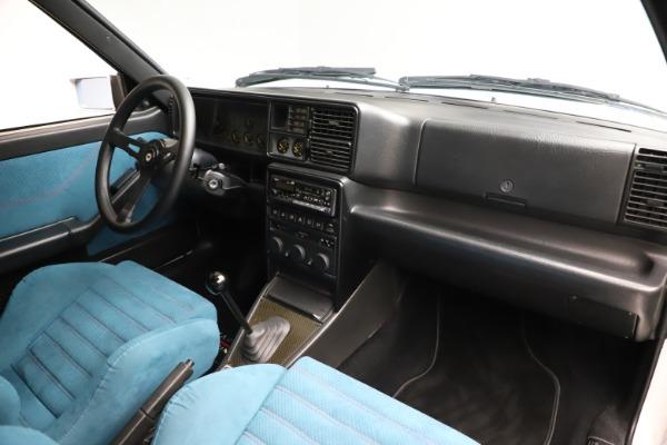Used 1992 Lancia HF Integrale Evo 1 Martini 6 for sale $199,900 at Aston Martin of Greenwich in Greenwich CT 06830 17
