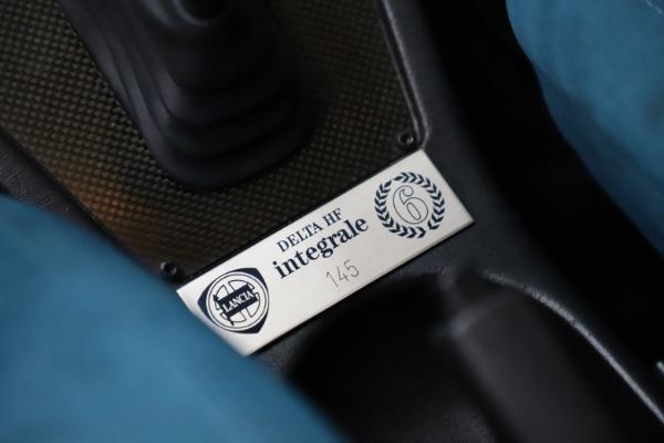 Used 1992 Lancia Delta Integrale Evo 1 - Martini 6 for sale $188,900 at Aston Martin of Greenwich in Greenwich CT 06830 21