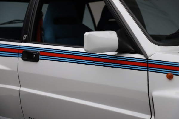 Used 1992 Lancia HF Integrale Evo 1 Martini 6 for sale $199,900 at Aston Martin of Greenwich in Greenwich CT 06830 27