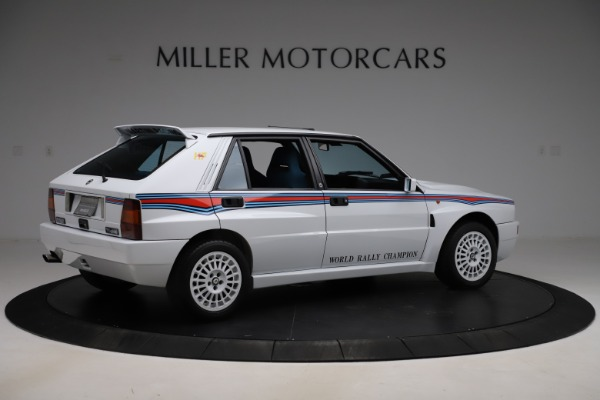 Used 1992 Lancia HF Integrale Evo 1 Martini 6 for sale $199,900 at Aston Martin of Greenwich in Greenwich CT 06830 8