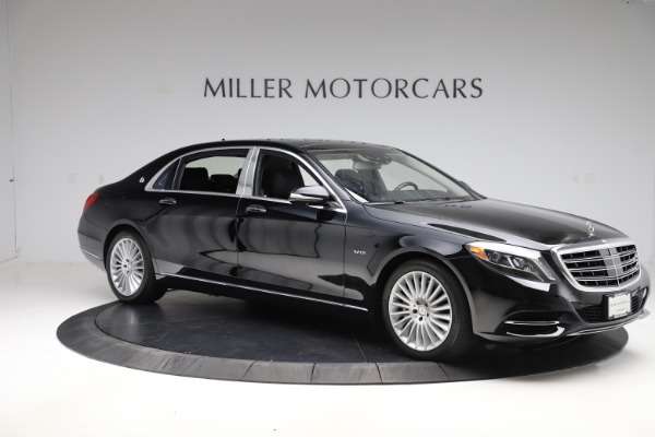 Used 2016 Mercedes-Benz S-Class Mercedes-Maybach S 600 for sale $87,900 at Aston Martin of Greenwich in Greenwich CT 06830 10