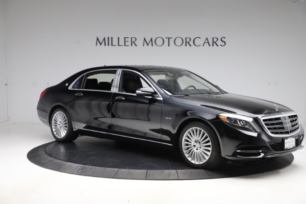 Used 2016 Mercedes-Benz S-Class Mercedes-Maybach S 600 for sale $87,900 at Aston Martin of Greenwich in Greenwich CT 06830 11