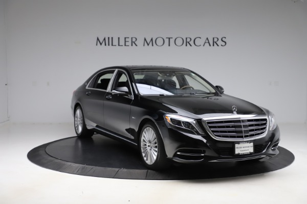 Used 2016 Mercedes-Benz S-Class Mercedes-Maybach S 600 for sale $87,900 at Aston Martin of Greenwich in Greenwich CT 06830 12