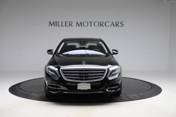 Used 2016 Mercedes-Benz S-Class Mercedes-Maybach S 600 for sale $87,900 at Aston Martin of Greenwich in Greenwich CT 06830 13