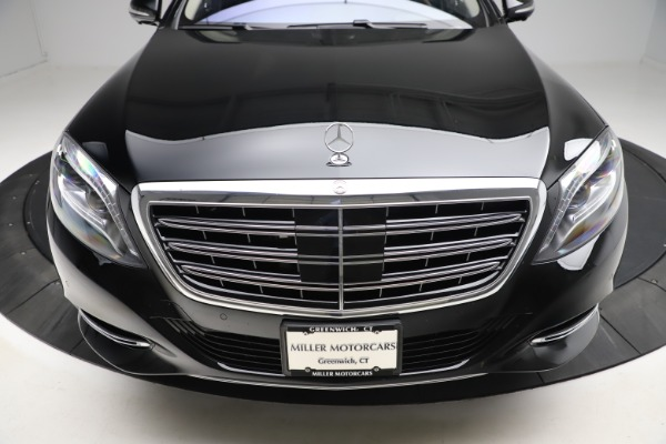 Used 2016 Mercedes-Benz S-Class Mercedes-Maybach S 600 for sale $87,900 at Aston Martin of Greenwich in Greenwich CT 06830 14