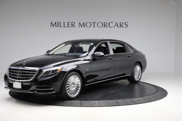 Used 2016 Mercedes-Benz S-Class Mercedes-Maybach S 600 for sale $87,900 at Aston Martin of Greenwich in Greenwich CT 06830 2