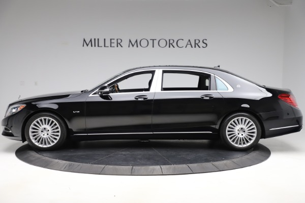 Used 2016 Mercedes-Benz S-Class Mercedes-Maybach S 600 for sale $87,900 at Aston Martin of Greenwich in Greenwich CT 06830 3