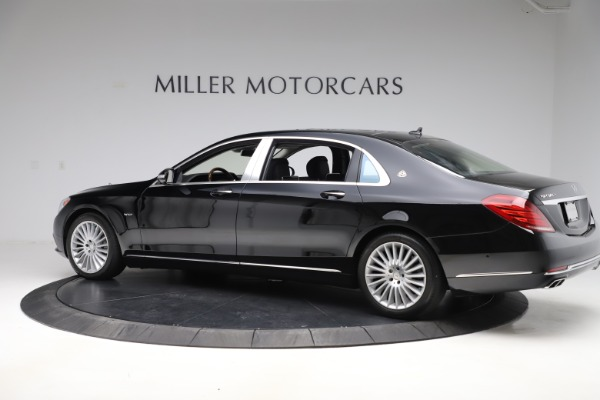 Used 2016 Mercedes-Benz S-Class Mercedes-Maybach S 600 for sale $87,900 at Aston Martin of Greenwich in Greenwich CT 06830 4