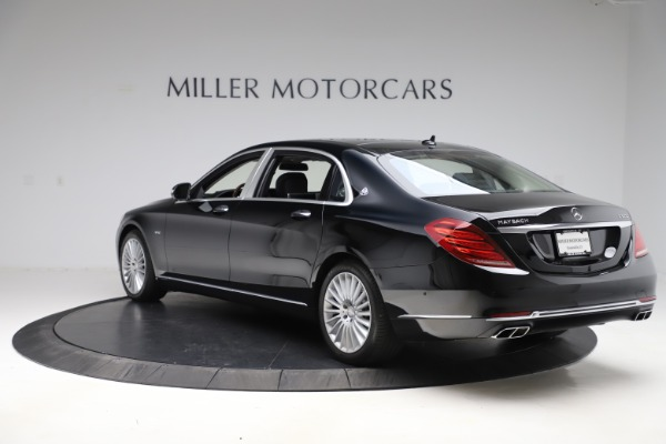 Used 2016 Mercedes-Benz S-Class Mercedes-Maybach S 600 for sale $87,900 at Aston Martin of Greenwich in Greenwich CT 06830 5