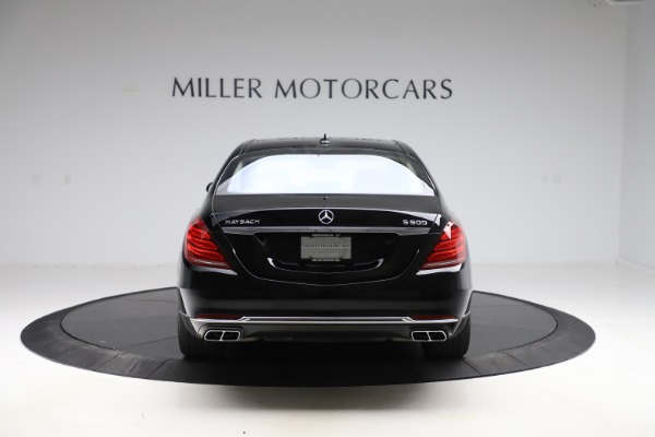 Used 2016 Mercedes-Benz S-Class Mercedes-Maybach S 600 for sale $87,900 at Aston Martin of Greenwich in Greenwich CT 06830 6