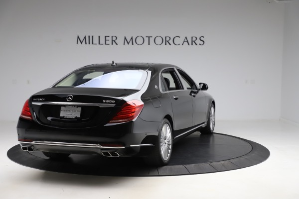 Used 2016 Mercedes-Benz S-Class Mercedes-Maybach S 600 for sale $87,900 at Aston Martin of Greenwich in Greenwich CT 06830 7
