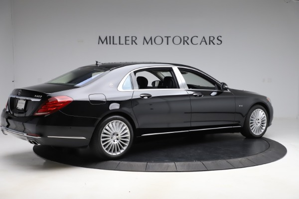 Used 2016 Mercedes-Benz S-Class Mercedes-Maybach S 600 for sale $87,900 at Aston Martin of Greenwich in Greenwich CT 06830 8
