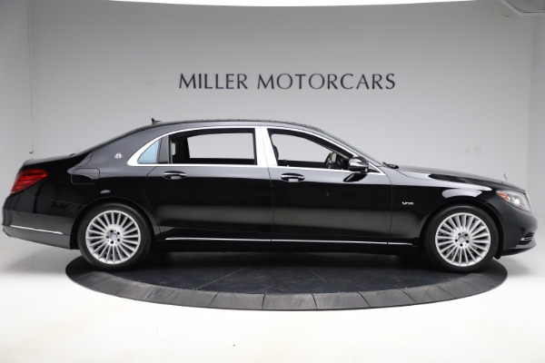 Used 2016 Mercedes-Benz S-Class Mercedes-Maybach S 600 for sale $87,900 at Aston Martin of Greenwich in Greenwich CT 06830 9