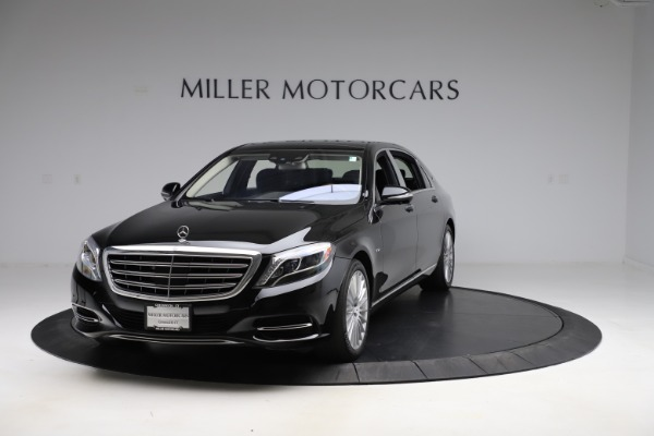 Used 2016 Mercedes-Benz S-Class Mercedes-Maybach S 600 for sale $87,900 at Aston Martin of Greenwich in Greenwich CT 06830 1