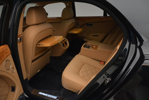Used 2013 Bentley Mulsanne Le Mans Edition- Number 1 of 48 for sale Sold at Aston Martin of Greenwich in Greenwich CT 06830 25