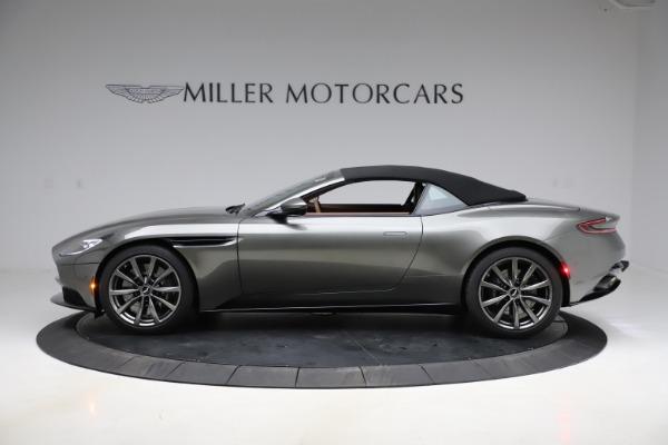 New 2020 Aston Martin DB11 Volante Volante for sale $264,266 at Aston Martin of Greenwich in Greenwich CT 06830 22