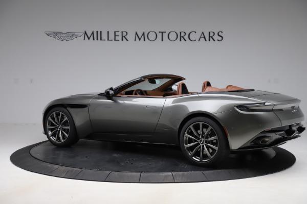 New 2020 Aston Martin DB11 Volante Volante for sale $264,266 at Aston Martin of Greenwich in Greenwich CT 06830 5
