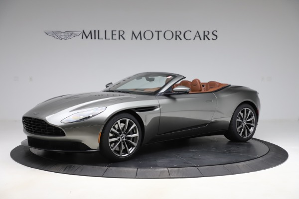 New 2020 Aston Martin DB11 Volante Convertible for sale $264,266 at Aston Martin of Greenwich in Greenwich CT 06830 1