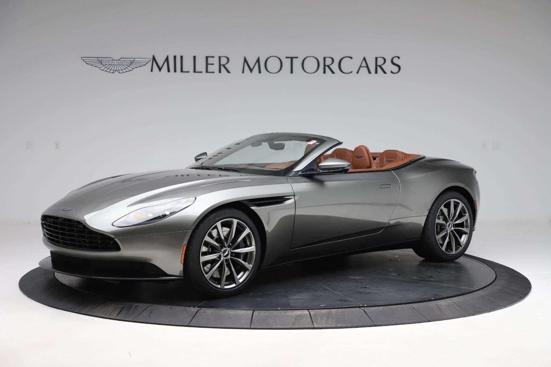 New 2020 Aston Martin DB11 Volante Volante for sale $264,266 at Aston Martin of Greenwich in Greenwich CT 06830 1