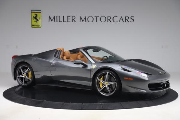 Used 2012 Ferrari 458 Spider for sale $176,900 at Aston Martin of Greenwich in Greenwich CT 06830 10